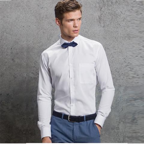 548a648ebb8 Kustom Kit Long Sleeve Premium Slim Fit Shirt